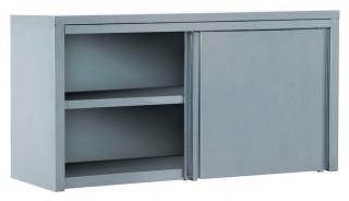 Полка-шкаф настенная закрытая ПЗК-1500 (двери-купе)