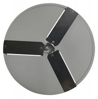 Диск P2 для овощерезки HLC-300 слайсер 2мм  3-х лучевой (корп пласт)
