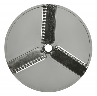 Диск PB2 для овощерезки HLC-300 3-х лучевой слайсер волнистый (корп пласт)