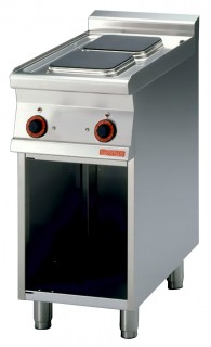 Плита электрическая LOTUS PCQ-74ET двухконфорочная без жарочного шкафа (серия 70)