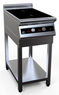 Плита индукционная двухконфорочная I7-2S на открытой подставке [серия 700]