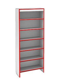 Шкаф ST SH S900 STEP (кромка красная)