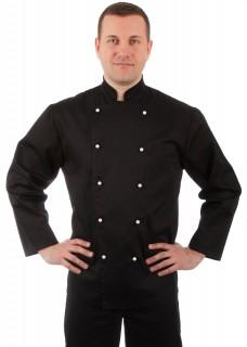 Куртка шеф-повара черная мужская [00001]