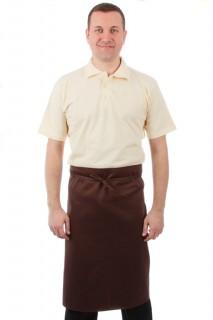 Фартук шеф-повара коричневый [00300]