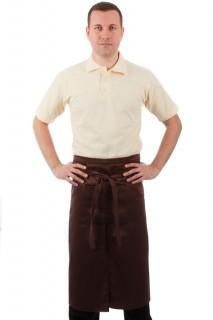 Фартук официанта коричневый [00302]