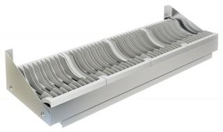 Полка настенная для сушки посуды ПН-310/1200 (на 50 тарелок)