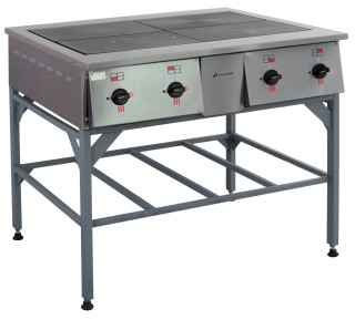 Плита электрическая ПЭ-0.48Н четырехконфорочная без жарочного шкафа