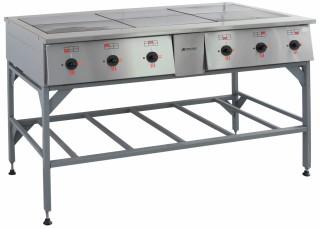 Плита электрическая ПЭ-0.72Н шестиконфорочная без жарочного шкафа