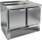 Стол охлаждаемый для салатов SLE1-11GN с крышкой