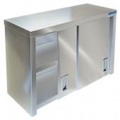Полка-шкаф настенная закрытая ПН-422/1200 (двери-купе)