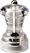 Мельница для перца 100 мм PEPPERSTYLE BY BISETTI прозрачный акрил [822]