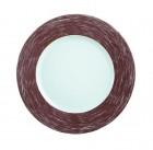 Тарелка d=190 мм. коричневая Color Days /24/
