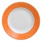 Тарелка d=220 мм. глубокая, оранжевая Color Days /24/